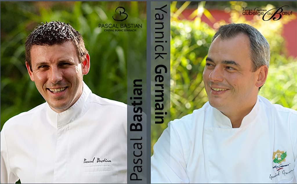 Chef Bastian et Chef Germain