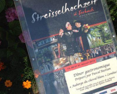 Streisselhochzeit 2013 : Chef Pascal Bastian