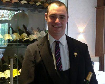 Joel brendel Chef Sommelier à l'Auberge du Cheval Blanc