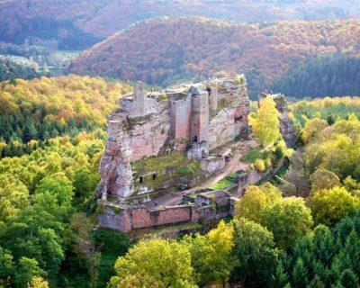 Château Fleckenstein à Lembach ©Château de Fleckenstein
