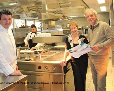 La cuisine de l'Auberge après les travaux (c) Julien Binz