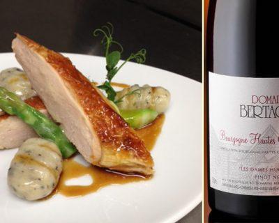 Accords mets & vins autour de la pintade rôtie et de la Bourgogne